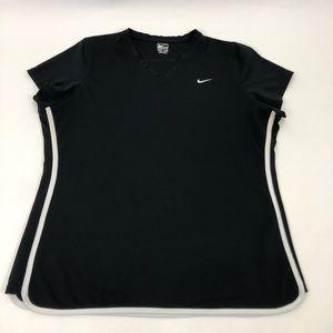 Nike VNeck Athletic Top Black XL